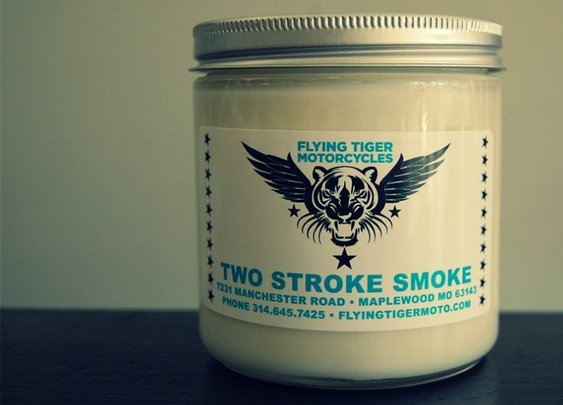 You'll like this candle. Your girlfriend/wife may not.