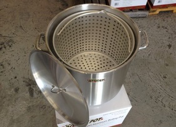 Cajun Rocket Crawfish Pot 100 Quart