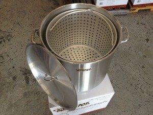 Cajun Rocket Crawfish Pot 100 Quart