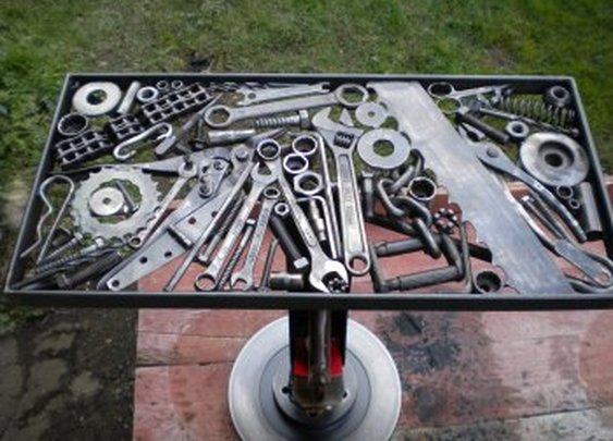 Welding Projects Tool Table