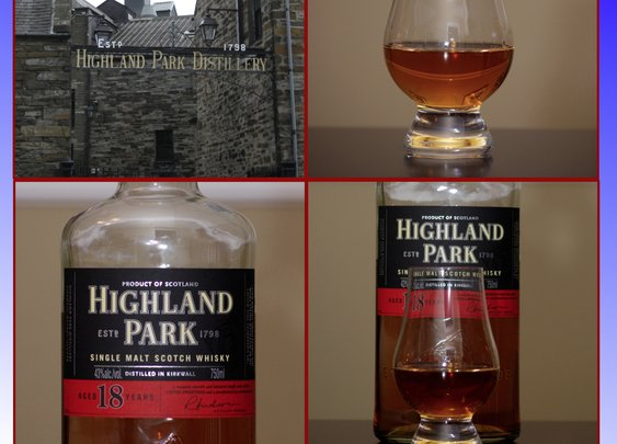 Whisky Review – Highland Park 18