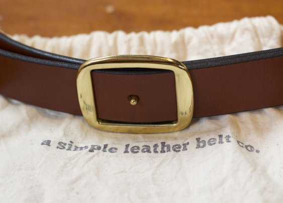 New Belt From A Simple Leather Belt Co. – The Cinch Belt – $49
