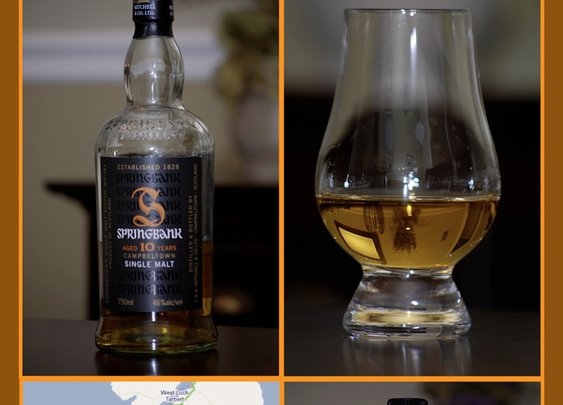 Whisky Review – Springbank 10