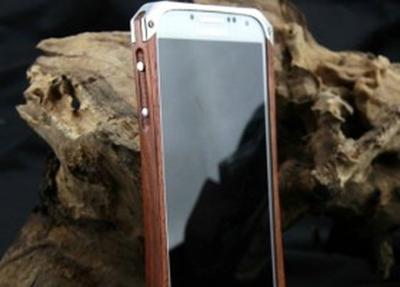 Samsung Galaxyy S4 - Wooden Bumper Case