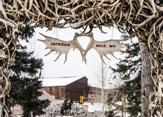 10° stroll in Jackson Hole