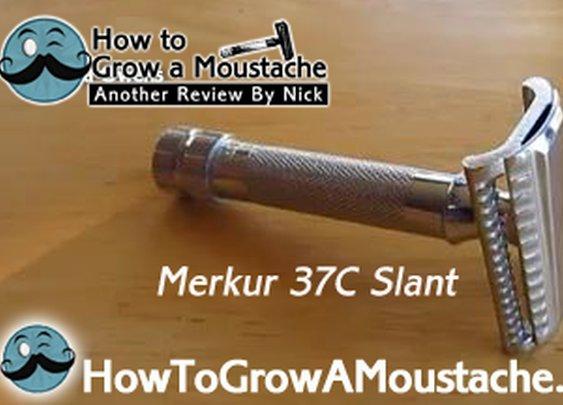 Merkur 37C Slant Review  | How to Grow a Moustache