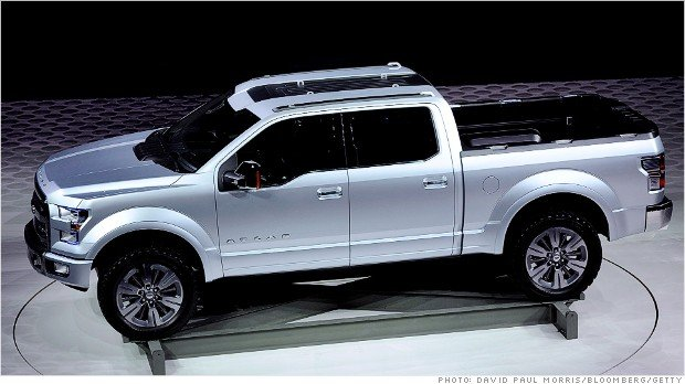 Ford gets ready to unveil the aluminum F-150 - Jan. 2, 2014