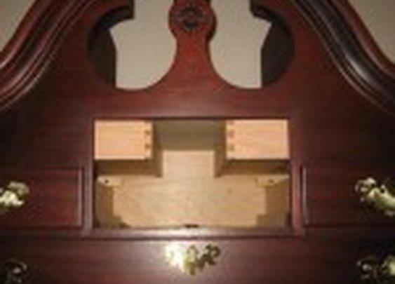 Secret Drawers in Highboy Armoire | StashVault