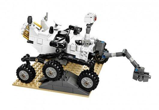 NASA's Curiosity Rover available on Earth in Lego form