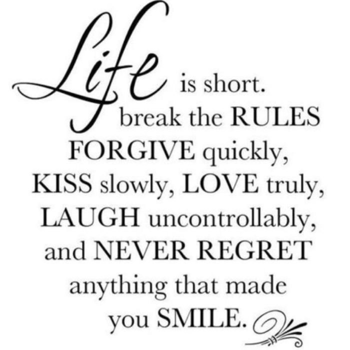Life is short.... #Inspiring #Quote
