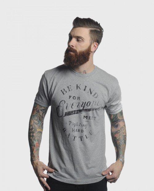 Hard Battle Tee - Clothing - Mens