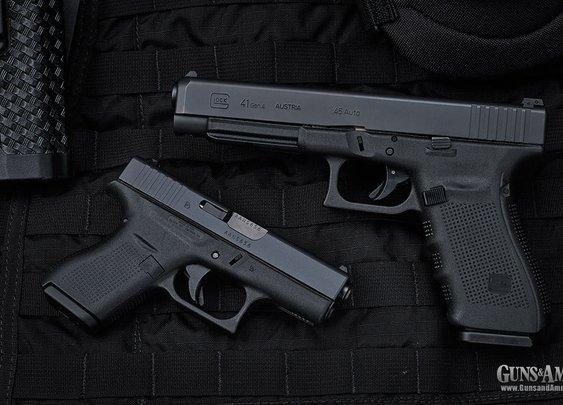 Revealed: Glock 41 & 42 Pistols