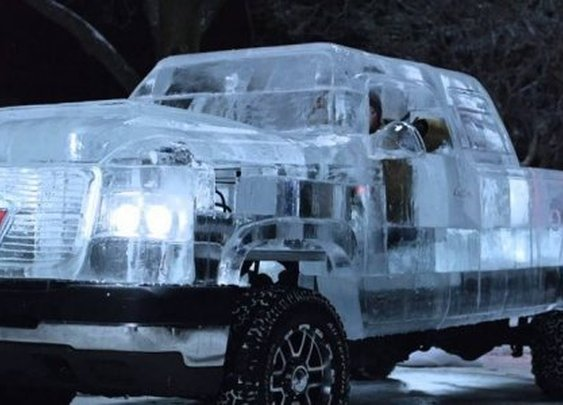 Functioning Ice Truck
