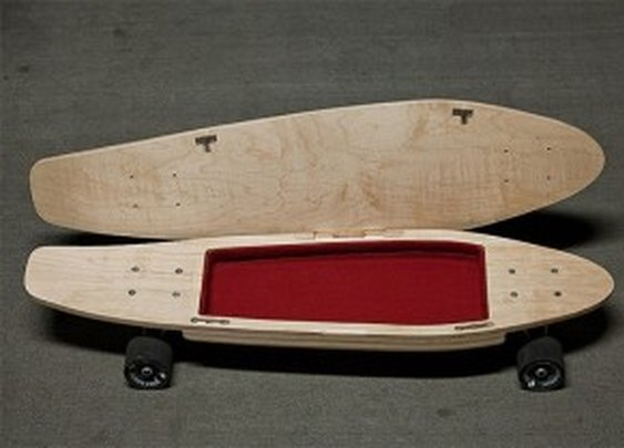 Skateboard with Secret Compartment | StashVault