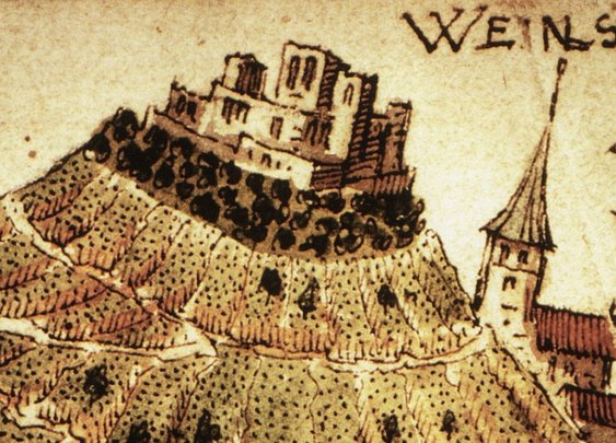 In 1140, The Men of Weibertreu Castle Were Carried To Safety By Women