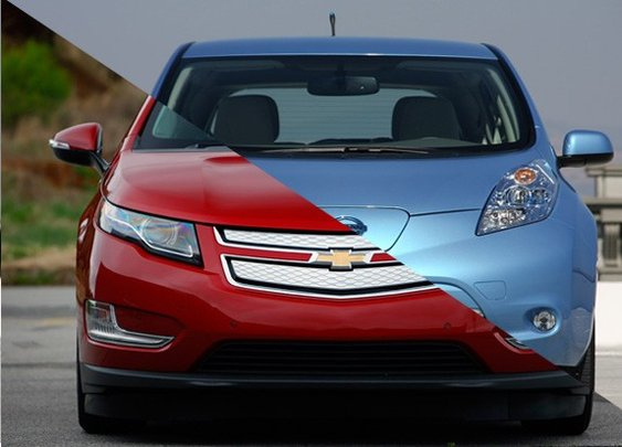 It was a hard fought battle, but 2013 green car sales goes to the Chevy Volt