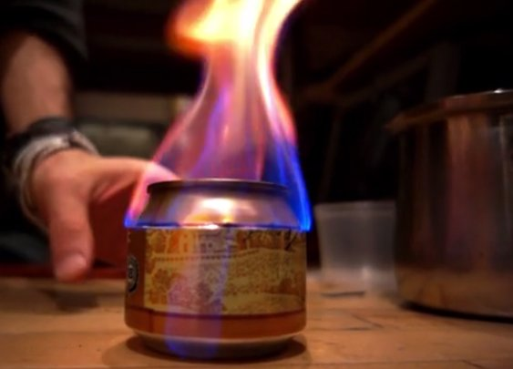 How to Turn a Beer Can into a Camp Stove [video]