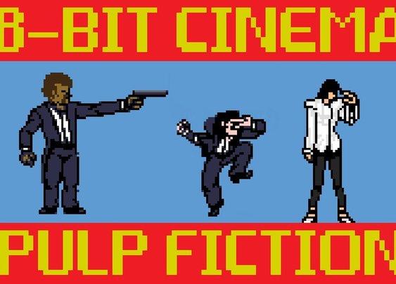 Pulp Fiction - 8 Bit Cinema