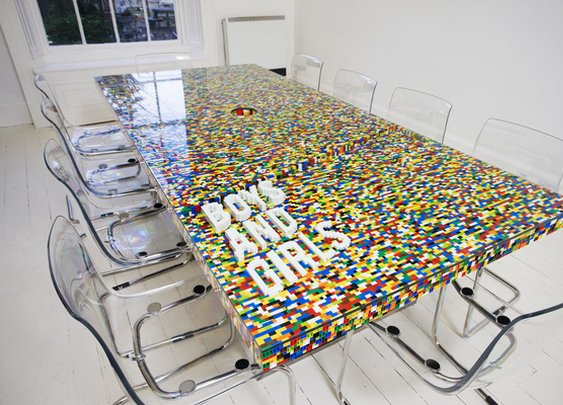 Lego Boardroom Table Design by abgc