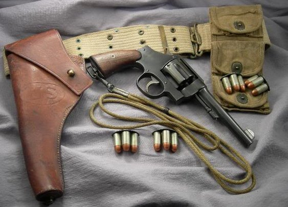 Colt 1917 with Accesories