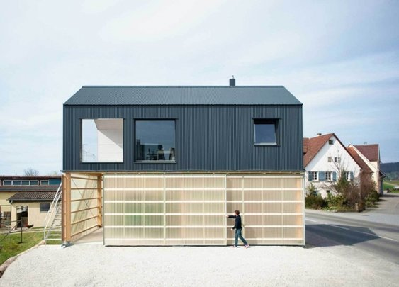 Hous Unimog by Fabian Evers Architecture