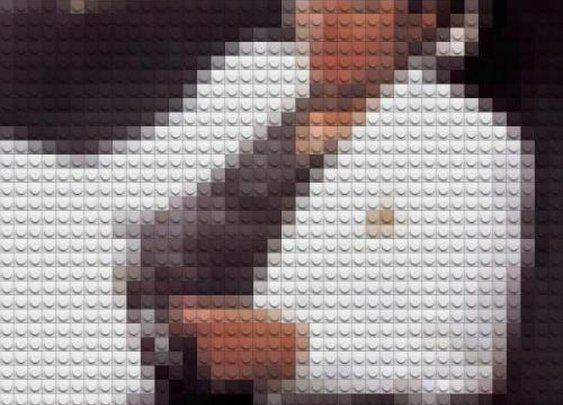 Famous album covers made of legos