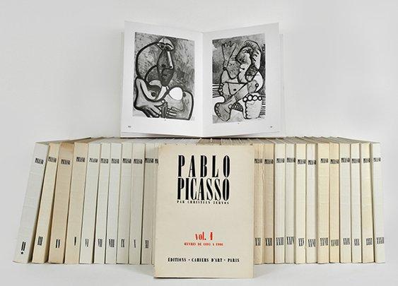 Cahiers d'Art to Republish the Zervos Picasso Catalogue