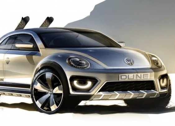 Volkswagen transforms the Beetle into a dune buggy