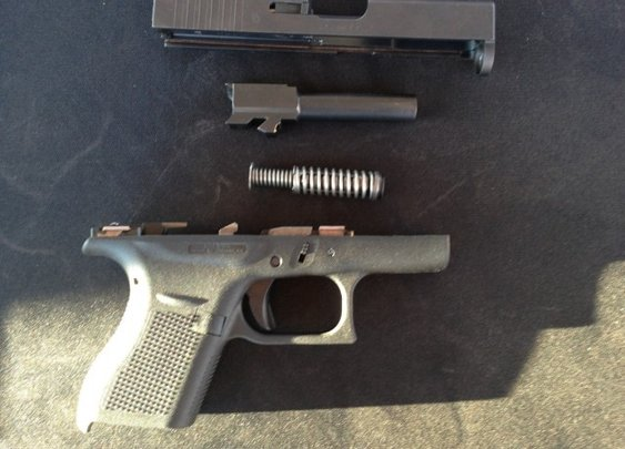 Pics of the Glock 41 and 42 from the 2014 SHOT Show Range Day | On Duty Gear Blog