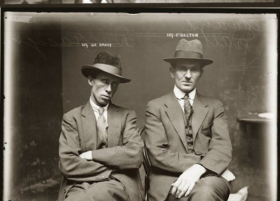 Police mugshots in the 1920s... - The Meta Picture