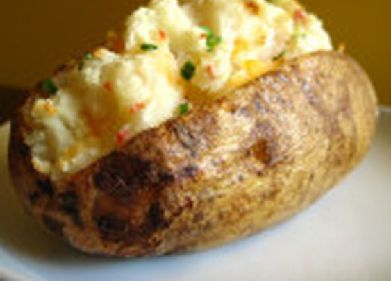 Twice Baked Potatoes with Pancetta, Mushrooms and Caramelized Onions