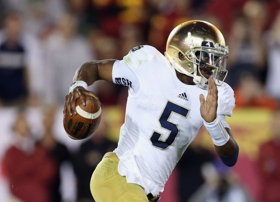 Exactly How Much Better Will Everett Golson Make Notre Dame in 2014? | Bleacher Report