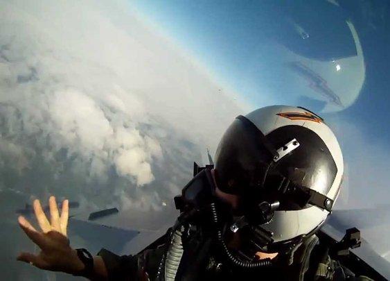 F-18 GoPro onboard - Sail - HD - YouTube