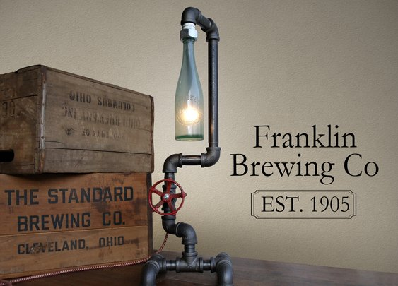 Beer Bottle Lamps | The Coolector