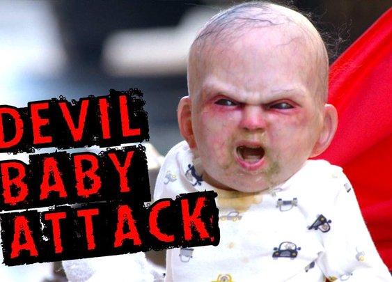 Devil Baby Prank