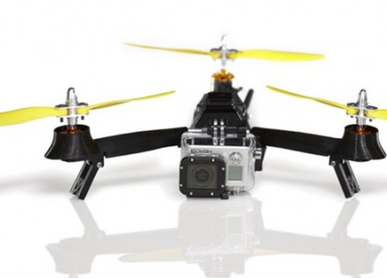 Sub-$500 Pocket Drone folds for transport and carries a GoPro