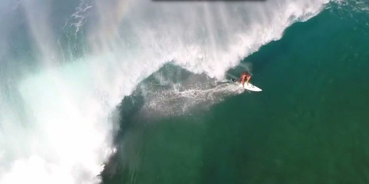 GoPro + Drone = Incredible Surf Video