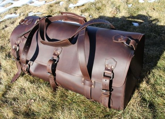 Review of The Beast – Saddleback Leather's Large Duffel Bag – $907