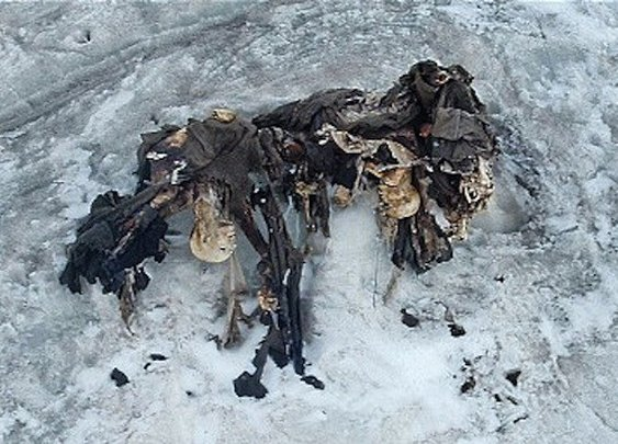 WWI soldiers found preserved in Italy's melting glaciers