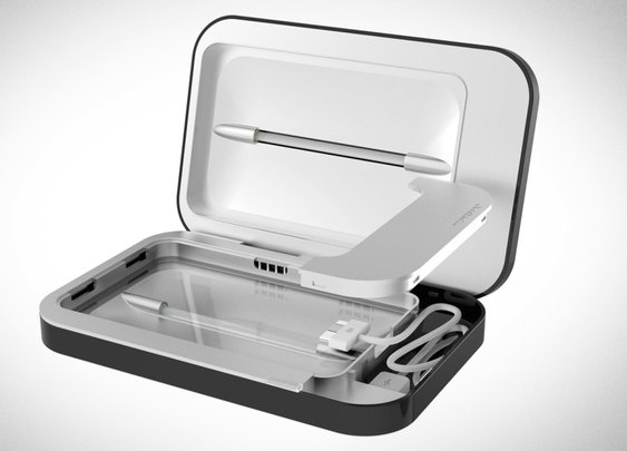 The PhoneSoap Charger Recharges and Disinfects Your Stinky Phone