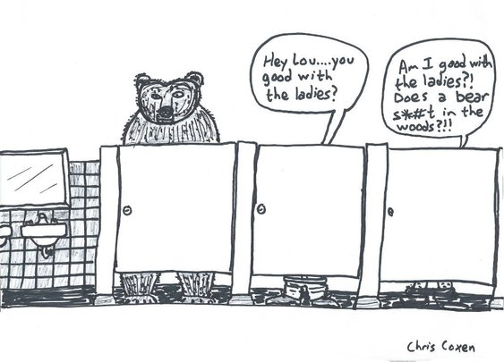 Bear Business | Take The Patience
