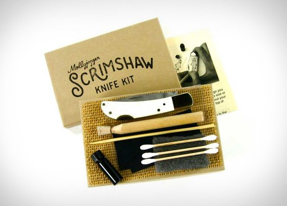 Scrimshaw Knife Kit | Uncrate
