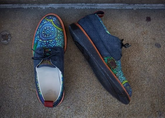 RONNIE FIEG FOR DR. MARTENS ELDRIDGE SHOES