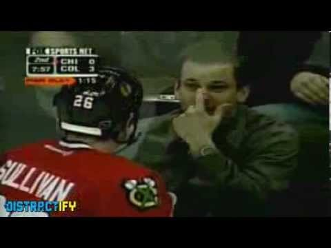 Hockey Fan Taunts Injured Player And Gets An Instant Dose Of Karma - YouTube