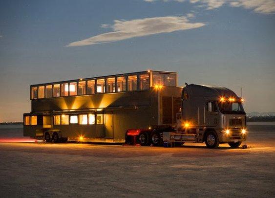 Luxurious Heat Mobile Estate