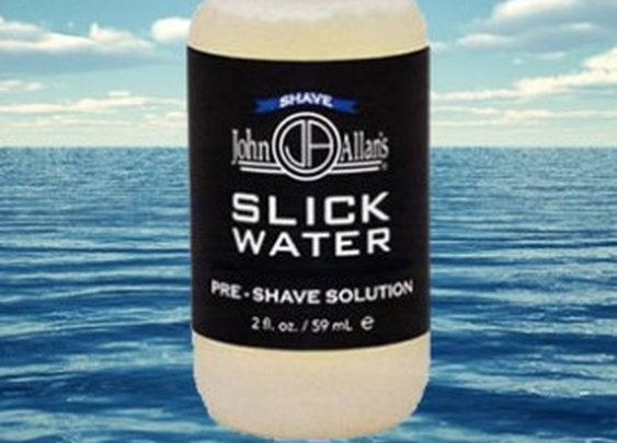 Eliminate Shave Irritation - John Allan's Slick Water