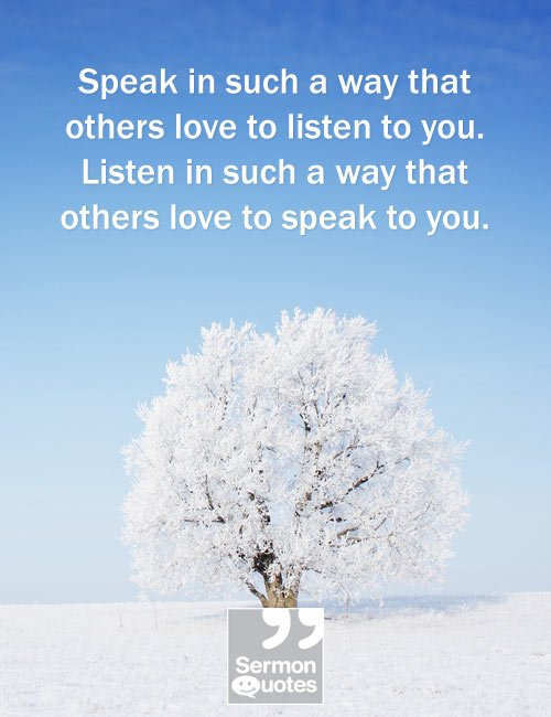 How to get people to listen to you....