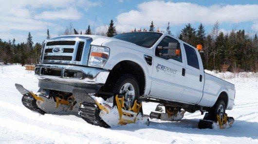 Track N Go system adds tracks to trucks