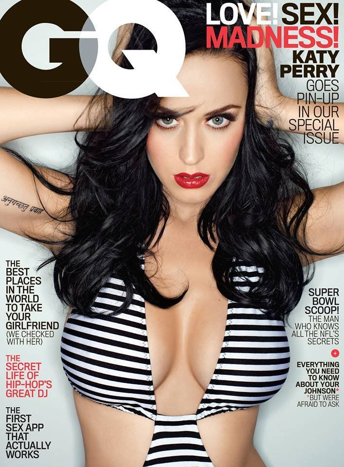Katy Perry Sets Magazine Stands On Fire With GQ Cover | DaysTune