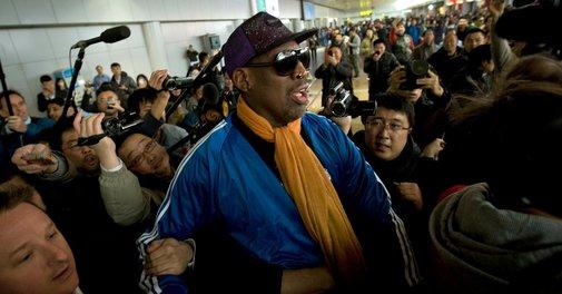 Dennis Rodman Enters Rehab After North Korea Trip